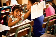 Letter day is a special day for kids at Compassion centres. Excited chatter fills the air as they patiently wait to see if a letter has arrived from their beloved sponsor. And when their name is called—well this little girl in Nicaragua's face says it all!   Read why kids love letters.