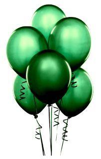 Emerald Balloons