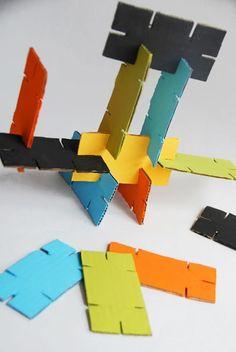 Reciclagem criativa: 20 brinquedos de papelão