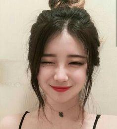 * that makeup though Ulzzang Korean Girl, Cute Korean Girl, Korean Beauty, Asian Beauty, Girl Korea, Uzzlang Girl, Asian Hair, Aesthetic Girl, Pretty People