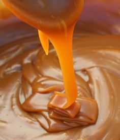 Salted Caramel Recipe ~ smooth and silky, salty and sweet... It's easy to make and can be bottled in pretty jars as a gift, or can be stored for the making of future instant desserts or toppings.