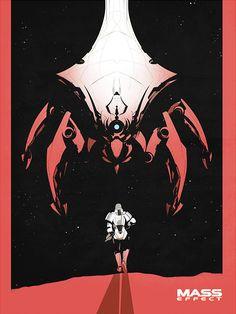 Mass Effect by Calum Alexander Watt : masseffect – World Of Games Mass Effect Poster, Mass Effect Games, Mass Effect Art, Video Game Posters, Video Games, Mass Effect Reapers, Mass Effect Tattoo, Science Fiction, Mass Effect Universe