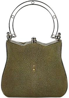 Continental Couture Olive Handbag