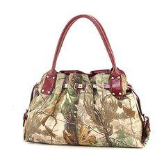 Realtree Camo APG Studded Accent Hobo Bag