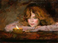 Irene Sheri Vishnevskaya, 1968 ~ Romantic Impressionist painter