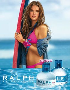 Yo lo probé perfumes: Ralph Fresh de Ralph Lauren | Quinta trends | Bloglovin' Ralph Lauren, Perfume Adverts, Fashion Posters, Cnn Politics, Cosmetics & Perfume, Commercial Photography, Brunette Hair, Bikinis, Swimwear