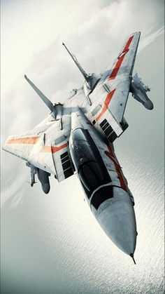 Celebrating the aircraft designed and built on Long Island, along with other planes I think are beautiful. Air Fighter, Fighter Pilot, Fighter Aircraft, Fighter Jets, F14 Tomcat, Military Jets, Military Aircraft, Jets Privés De Luxe, Photo Avion