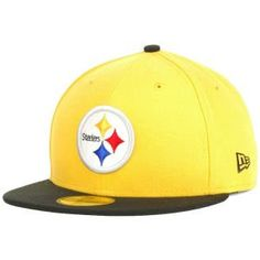 Men's New Era Pittsburgh Steelers On Field Classic 59FIFTY? Football Structured Fitted Hat 7 1/2