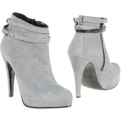 Heather grey Bootie