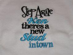 Step Aside Ken Boys' Shirt or Onesie. $14.49, via Etsy.