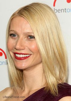 Gwyneth Paltrow Square Face Hairstyles