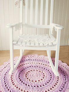 Crochet Rug - Free Pattern