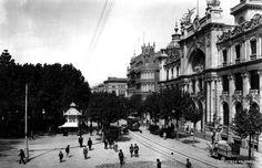 Terminado, tras nueve años de obras, el palacio de Correos y Telégrafos, en la plaza de Castelar | Valencia 1922