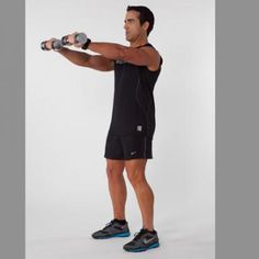 Exercises That Are a Waste of Time: Upright Rows - Personal Trainers: 15 Exercises That Are a Waste of Time - Shape Magazine Short Workouts, Gym Workouts, Upper Body Workout Routine, Fitness Websites, Fitness Tips, Lower Back Pain Causes, Weight Training Workouts, Training Exercises, Shoulder Workout