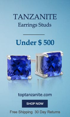 78c24642d Tanzanite Earrings | Tanzanite Diamond Earrings | Blue Tanzanite Earrings
