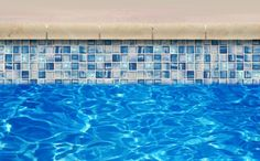 -  Glass waterline tile, maybe the spa?