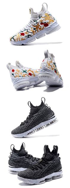 fc15848fd947 Nike LeBron James 15 knit Men Basketball shoes Free Shipping Size 40-46  WhatsApp 8613328373859