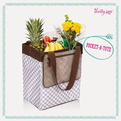 Shopping with 31! Essential Storage Tote and a Pocket a Tote for coupons.