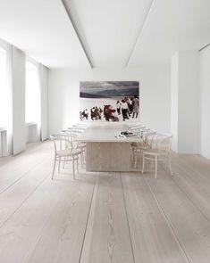 Hotel Decor, Dining Room Inspiration, Dining Room Design, Dining Rooms, Floor Decor, Interiores Design, Nordic Design, Scandinavian Design, Scandinavian Interiors