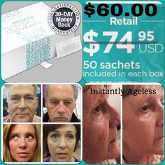 Instantly Ageless Topical cream that acts like Botox by removing wrinkles and eye bags in 2 minutes. Last up to 9 hours. Other