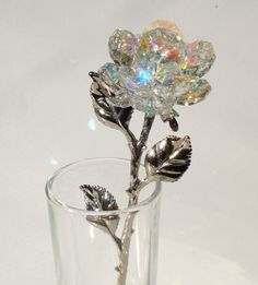 Crystal Rose made with Swarovski Crystal in by BJCRYSTALGIFTS, $79.99