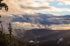 Baden - Baden. Black forest national park. Weather spectacle on Schliffkopf, looking southwest.  Photo: Arne piston / National Park
