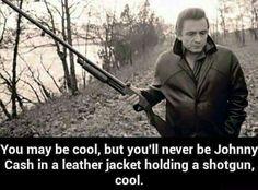 Johnny Cash cool