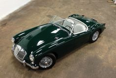 1959-MGA-37 one of the most beautiful BRG paintjobs I've ever seen--at least in a picture