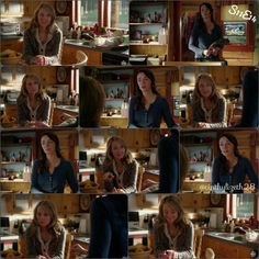 """Lou and Amy  Georgie and Phoenix (Catches of the first look of episode 14 """"Past Imperfect"""") #iloveheartland #Heartland #HLseason11 #HeartlandOnCbc #AmberMarshall #Amyfleming #AlishaNewton #GeorgieflemingMorris"""