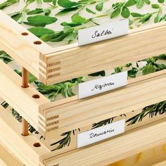 [ Idea: Herbal Drying Racks ] posted for consideration on http://www.houzz.com. Imagine the aroma this would give to your home.