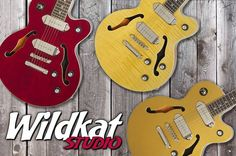 Have you seen the new Wildkat Studio? Read about it at: http://www.epiphone.com/News/Features/2016/Epiphone-Ltd-Ed-Wildkat-Studio.aspx