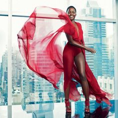 Snapshot: Lupita Nyong'o by Alexi Lubomirski for Paris Match Magazine