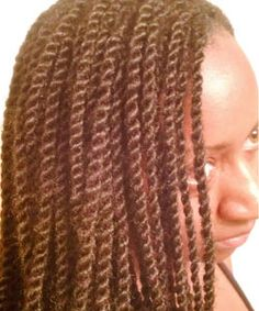 Kinky twists; prep for them, care of them, and nighttime routine