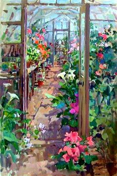 Susan Ryder, The Greenhouse'