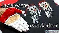 Prace plastyczne na święta odciski dłoni