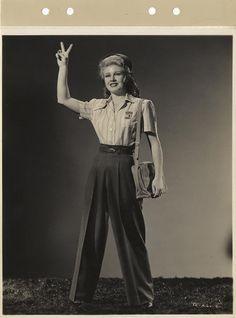 TENDER COMRADE (1943) Ginger Rogers