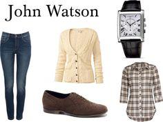 """John Watson"" by burdenedwithgloriousfashion on Polyvore"