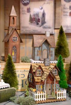 Tim Holtz Village Dwelling and Brownstone