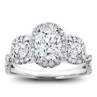 Custom 3 stone cushion halo with rubies. shown with band custom 3 stone cushion halo with rubies. shown with band Engagement Ring Buying Guide, Engagement Rings Cushion, Engagement Sets, Three Stone Engagement Rings, Diamond Wedding Rings, Vintage Engagement Rings, Halo Rings, Diamond Rings, Bridal Rings