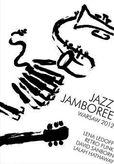 jazz jamboree / poster by Justyna Hajduk