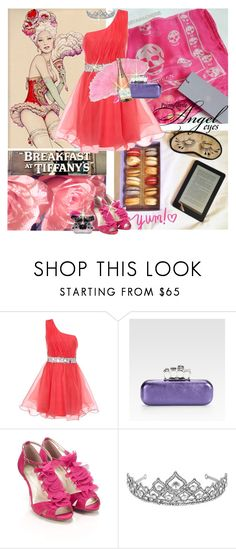 """""""Roses & Macaroons"""" by icedoll ❤ liked on Polyvore featuring Børn, Lipsy, Alexander McQueen, Monsoon, Jon Richard and Victoria's Secret"""