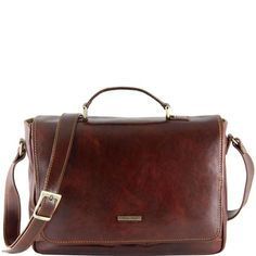 Padova - Tuscany Leather - Exclusive leather laptop case - Bags For Business