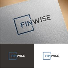 Develop a cool logo for a brand new company Finwise by Pokemon Go