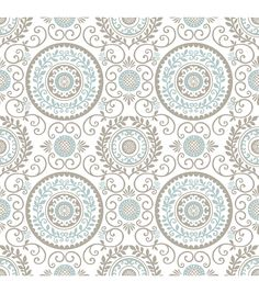 WallPops® NuWallpaper™  Mirabel Medallion Peel and Stick Wallpaper