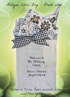 Personalized Wedding Welcome Bags Wedding by WelcomeBagsWeddings