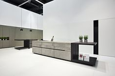 "Auf dem Weg zur idealen Küche - News & Stories bei STYLEPARK - concrete kitchen ""modul"" - www.steininger-designers.at"