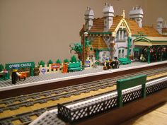 Brick Town Talk: Trains - LEGO Town, Architecture, Building Tips, Inspiration Ideas, and more!