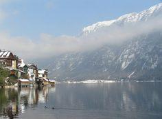 El hermoso Lago Hallstätter