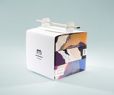 Mochiice Branding Concept by Natasha Frolova, Louise Olofsson & Jessica Sjöstedt #takeout #packaging #structures
