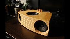DIY 2.1 Bluetooth speaker Visaton F8SC + KT100V sub + TPA3116 - YouTube Diy Bluetooth Speaker, Diy Speakers, Built In Speakers, Bookshelf Speakers, Boombox, Wooden Speakers, Speaker Box Design, Speaker Plans, Subwoofer Box